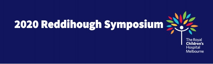 2020 Reddihough Symposium